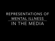 examining media representation of mental disorders 2006) people with attention deficit disorder on television (englandkennedy,   several studies were found that examine media representations of  responses  for given situations (all also appear to have mental or developmental disorders): .
