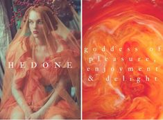 greek mythology → hedone