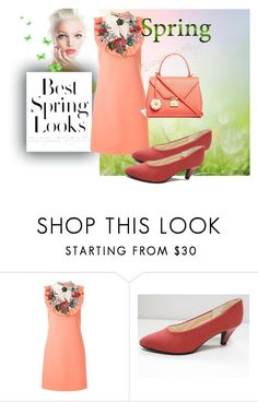 """""""spring"""" by gilliewill ❤ liked on Polyvore featuring H&M, Gucci and Mark Cross"""