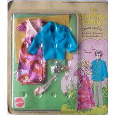 sunshine family mattel | Famiglia Felice Sunshine Family Vestito Dress Kit Beads