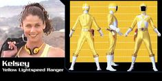 Kelsey Winslow (Yellow Lightspeed Rescue Ranger) - Power Rangers Lightspeed Rescue | Power Rangers Central