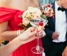 Creating a Signature Wedding Cocktail - Superstition Mountain