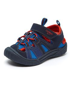 This Navy & Red Hava Closed-Toe Sneaker is perfect! #zulilyfinds