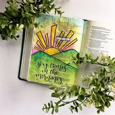 Bible Journaling by @doodlesbyjillian