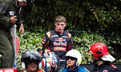 Dutchman Max Verstappen of Scuderia Toro Rosso departs from the F1 Monaco Grand Prix