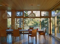 Crow's Nest Residence in Sugar Bowl, California by Mt. Lincoln Construction and BCV Architects via @. HomeDSGN .