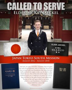 """""""We received our missionary poster and love it so much!  Thank you!"""" - Sister Jaeckel"""