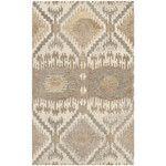 Bashian Rugs Norwalk Taupe Floral Area Rug & Reviews | Wayfair