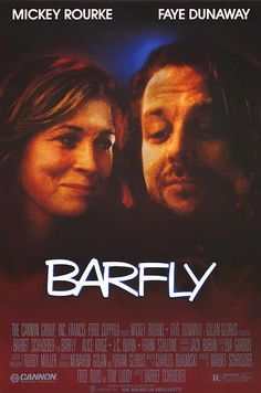 Mickey Rourke plays Henry Chinaski (created by Charles Bukowski) in Barfly. Easily a favourite of mine.