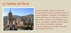 La familia de Oscar // Ahora tú, haz lo mismo y presenta a tu familia (EE)