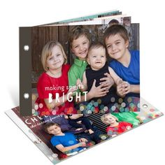Holiday Photo Cards -- Twinkle Lights Photo Book | Pear Tree Greetings