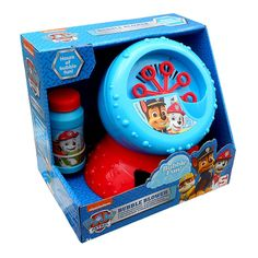 Have tons of bubbly fun with this Paw Patrol electronic bubble blower. Just fill up the blower with the solution provided and watch the bubbles c. Toddler Girl Gifts, Baby Girl Toys, Toddler Christmas Gifts, Kids Christmas, Toys For Boys, Kids Toys, Girls Princess Room, Minnie Mouse Toys, Paw Patrol Toys