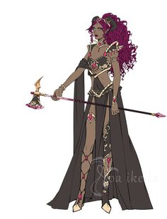 Artstation - character and outfit designs, noa ikeda. Character Design Sketches, Character Design Cartoon, Fantasy Character Design, Character Design Inspiration, Character Concept, Character Art, Dnd Characters, Fantasy Characters, Female Characters