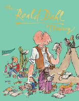 The Roald Dahl Treasury - gold foil for title and spot UV for characters