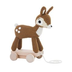 Foal on wheels - small model Sebra Baby Children- A large selection of Toys and Hobbies on Smallable, the Family Concept Store - More than 600 brands.