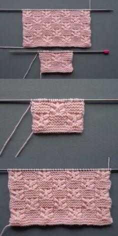 Discover thousands of images about Best Beautiful Easy Knitting Patterns - Knittting Crochet - Knittting Crochet Intarsia Knitting, Knitting Stiches, Knitting Blogs, Easy Knitting Patterns, Crochet Flower Patterns, Free Knitting, Baby Knitting, Crochet Pattern, Motif Bikini Crochet