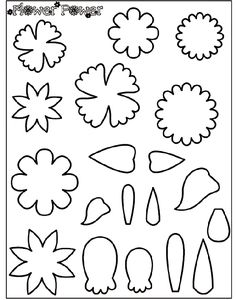 Give projects a fabulous flower flair with the Flower Power stencils! Use our flower shapes, or create your own unique flower shapes with the petal stencils provided.  1. Cut out the flower and leaf shapes.  2. Glue them onto a thin piece of cardboard, such as a recycled cereal box or file folder.   3. After the glue dries, cut out the shapes.   4. Place your cardboard stencils down on paper, and trace lightly.   5. Use Crayola crayons, colored pencils, or markers to decorate the flowers…