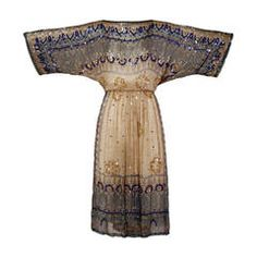 Judith Ann for Bullock's Wilshire Vintage 1970s Silk India Print Dress