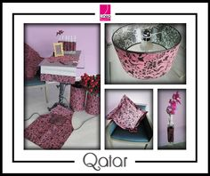 """Tejido aterciopelado """"Qatar"""" para decoración. Tu creatividad no tiene límites. - Velvety fabric """"Qatar"""" for decoration. Your creativity has no limits.-- by Línea Hogar Deco."""