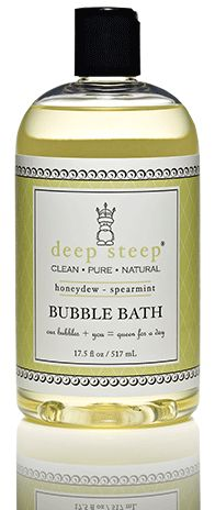 honeydew ~ spearmint #organic bubble bath.. #deepsteep $11.95