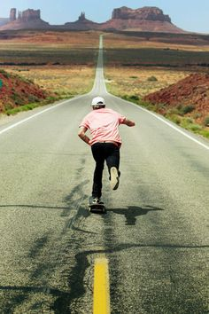 Monument valley # skating # skateboarding