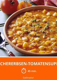 Kichererbsen-Tomatensuppe - smarter - Zeit: 45 Min.   eatsmarter.de