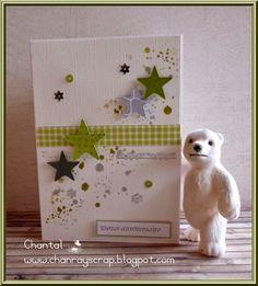 chanray's scrap: carte anniversaire et carte de voeux