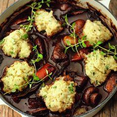 St Patricks Day recipe: Grass-Fed Beef Irish Stew With Herby Dumplings
