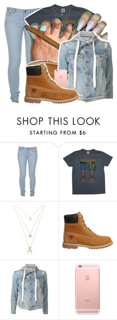 """couple bands by my lonely"" by bhad-lexus ❤ liked on Polyvore featuring Marc by Marc Jacobs, Junk Food Clothing, Forever 21, Timberland and NSF"