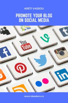 Promote Your Blog on Social Media and gain more followers – IDEADECO #blogging #seoservices #digitalmarketing #bloggingtips #contentmarketing Social Share Buttons, More Followers, Facebook Likes, Social Media Channels, Business Networking, Writing Skills, Seo Services, How To Start A Blog, Content Marketing