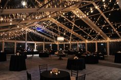 Wedding Event: Clifton Park Rental Tent: Losberger 20mx25m Clear Span