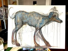 the Stray Dog http://ift.tt/2dk4L2W Art watercolor acrylic doodle art painting artistsoftumblr watercolor