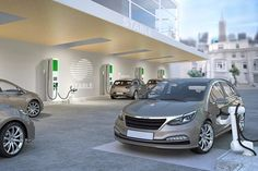 Electrify America Announces Robotic Charging Site for Self-Driving Cars Car Charging Stations, Chrysler Pacifica, Digital Trends, Self Driving, General Motors, Electric Cars, Robot, Building
