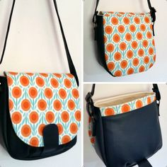 The Sandra Saddle Bag PDF Sewing Pattern by Swoon