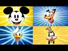 ▶ Donald Duck, Mickey Mouse, Pluto and Goofy - 4 Hours Non-Stop! - YouTube