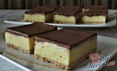 Recept Oblíbené MONTE řezy Tiramisu, Cheesecake, Muffin, Sweets, Snacks, Cooking, Ethnic Recipes, Food, Pastries
