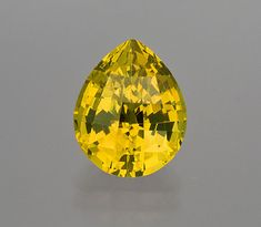 A grandite (5.37 carats, Mali). Photographed by Pala's Mia Dixon, above, and Wimon Manorotkul, below, included in Exotic Gems, Volume 2, pp. 144, 118.