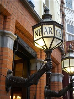 Neary's pub  1 Chatham Street Dublin 2 Ireland South Inner City  I gather that it's just an average bar, that gets over crowded, but I really like the lanterns