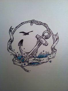 Nautical Tattoo Idea