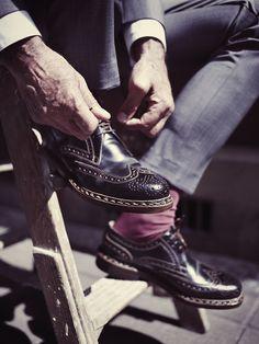 "Finest Shell Cordovan Shoes available at Oxblood Zürich Europaallee 19 www.oxbloodshoes.com  #cordovan #dandy #bogues ""budapester #heinrichdinkelacker #gentleman #zopfnaht #dapper #horween #euroapaallee"