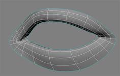 maya modeling leg topology - Google 검색