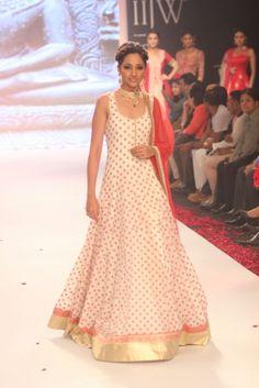 2 Elegant Floor Length Anarkali Dresses  (14)