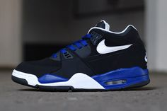 Image of Nike Air Flight 89 White/Black-Deep Royal