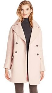 Vince Camuto Women's Double Breasted Wool Coat Smoky Blush X-Small Casual Coats For Women, Winter Coats Women, Pink Wool Coat, Wool Coats, Women's Coats, Double Breasted, Vince Camuto, How To Wear, Clothes