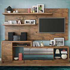 Gosta de móveis que fazem a decoração ser ainda mais incrível? Este Home é perfeito para deixar tudo organizado e lindo! <3