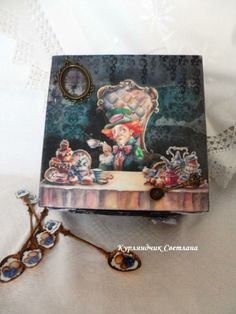 "Чайный короб ""Alice in Wonderland"""