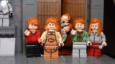 lego harry potter 2010 | the weasley's. the twins are moc's… | Flickr