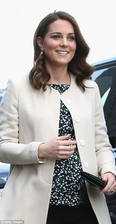 Kate's first stop of the day is a visit to SportsAid to undertake engagements celebrating ... #katemiddleton