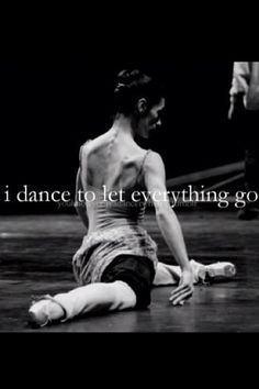 Dance is my stress reliever