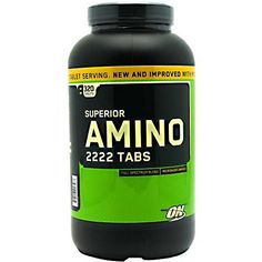 Optimum Nutrition Superior Amino Tablets, Count 2222 320